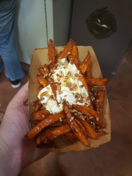 Refreshment Port: Sweet potato poutine, 6/10