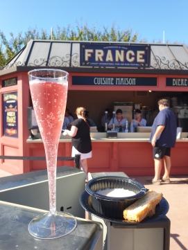 France Fondue and Croutons -8/10 Kir a la Grenade - 9/10