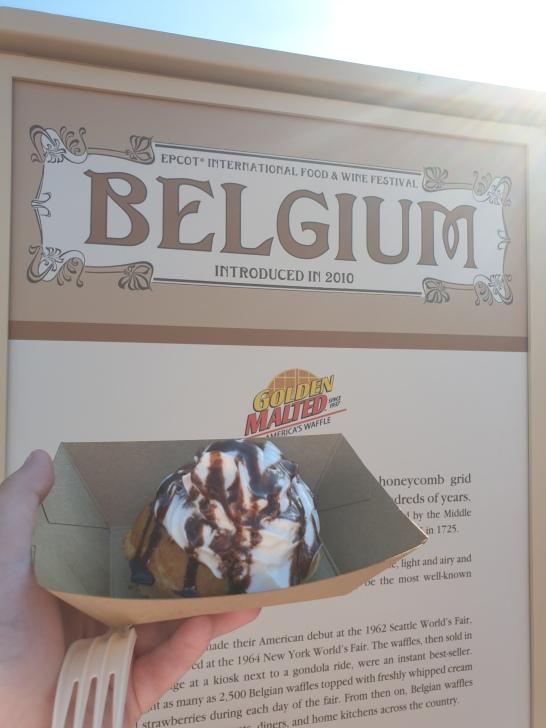 Belgium Chocolate Waffle - 7/10